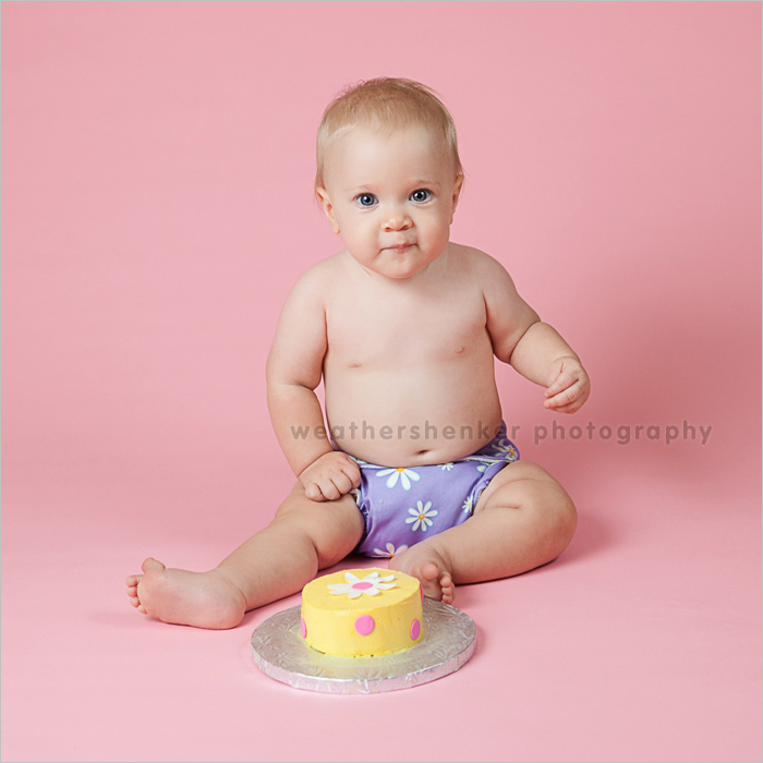 Austin cake smash photography